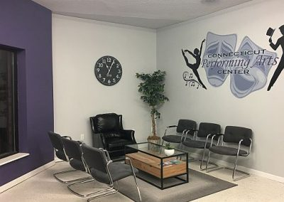 Picture of parent waiting area